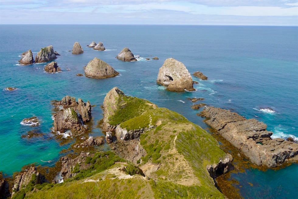 Nugget Point Ausblick - Neuseeland Südinsel - Southern Scenic Route