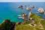 Nugget Point – Viele Inselchen, Leuchtturm, Pinguine, Seebären & zerklüftete Klippen!