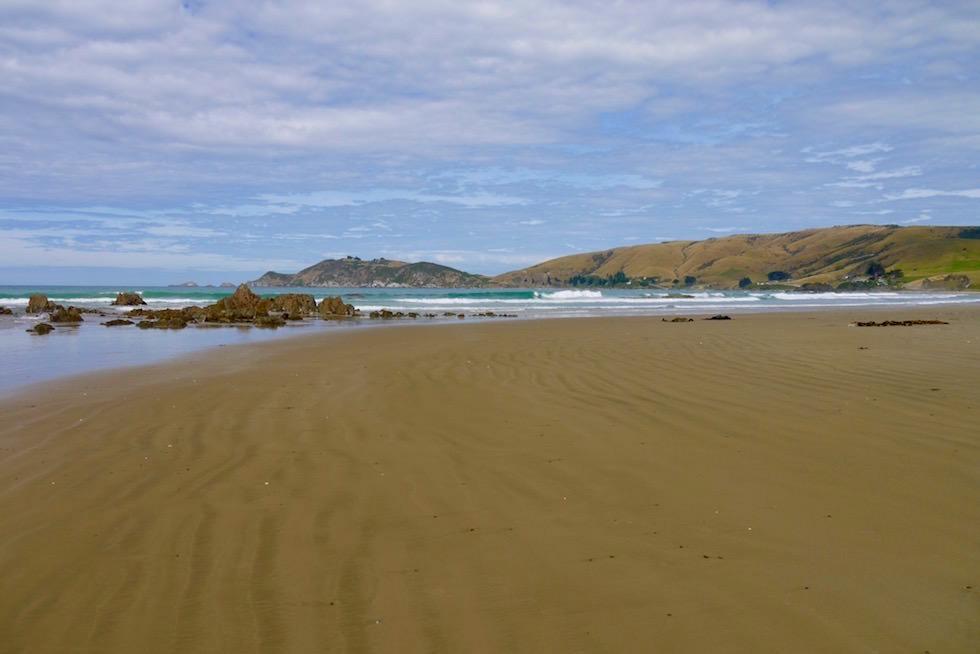 Zauberhafter Strand & Küste vor Nugget Point - Neuseeland Südinsel