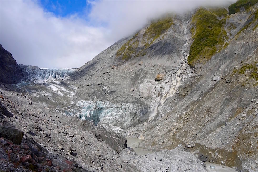 Blick auf den Fox Glacier - Neuseeland Südinsel