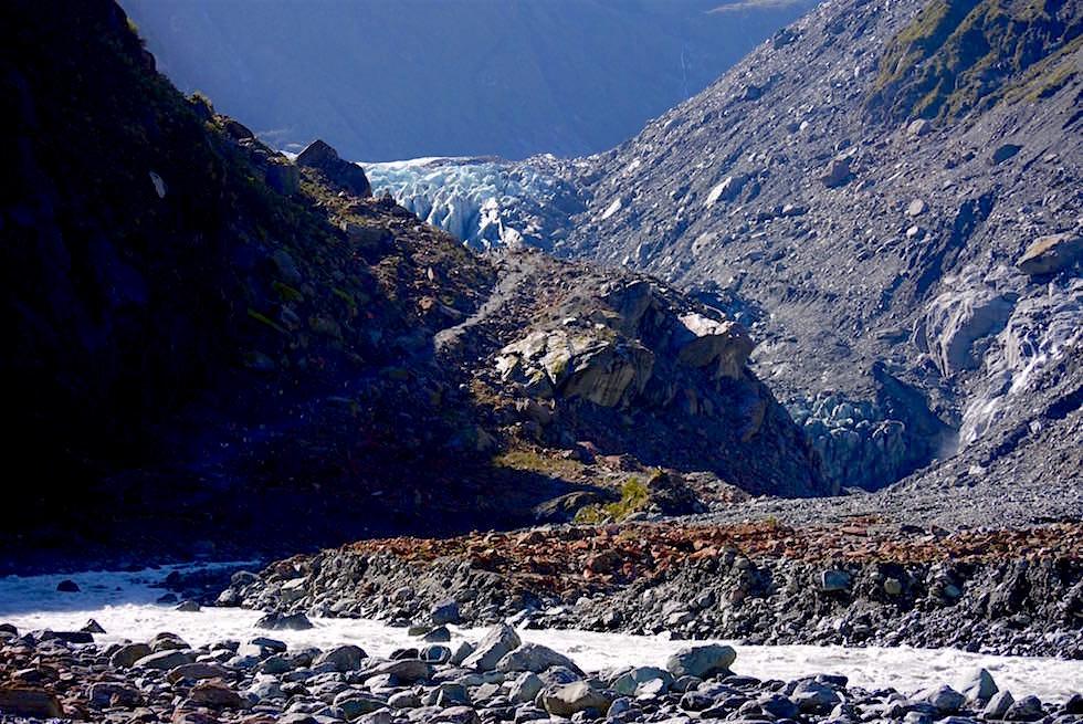 Wanderung zum Fox Glacier - Neuseeland Südinsel