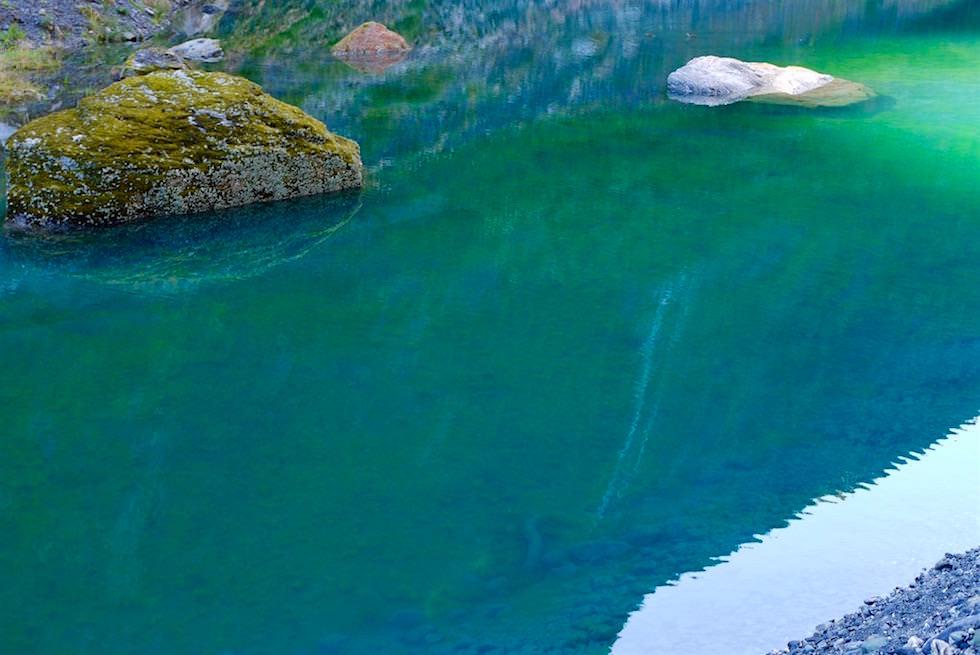 Herrliche Farbe der Lagune Fox Gletscher - Neuseeland