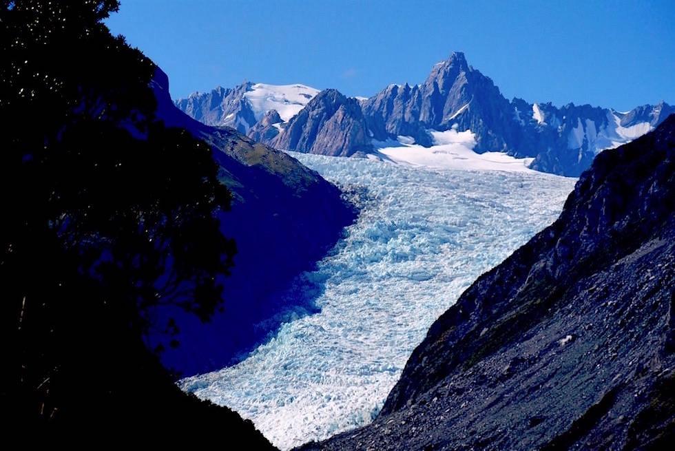 Fox Gletscher - Glacier View - Neuseeland