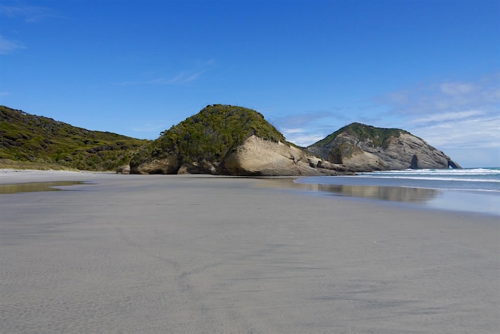 Wharariki Beach im Nordosten Südinsel bei Cape Farewell - Neuseeland