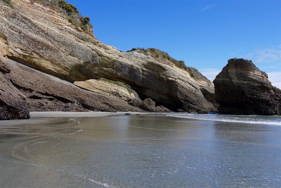 Felsbrücke - Wharariki Beach - Neuseeland