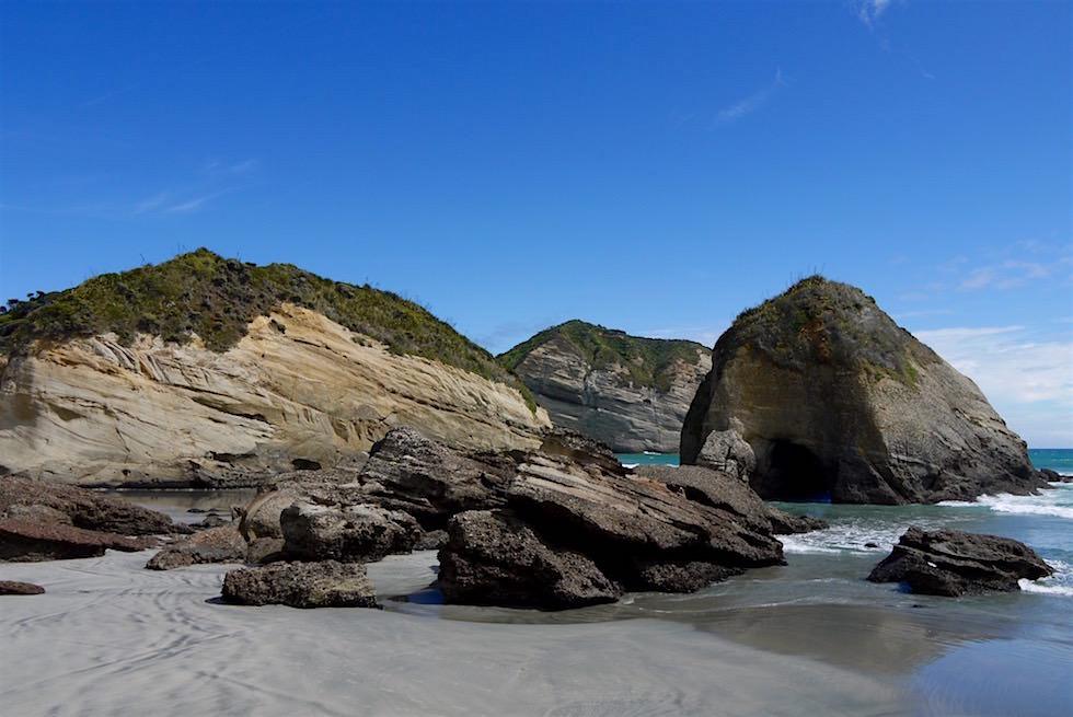 Felsformationen - Wharariki Beach - Neuseeland
