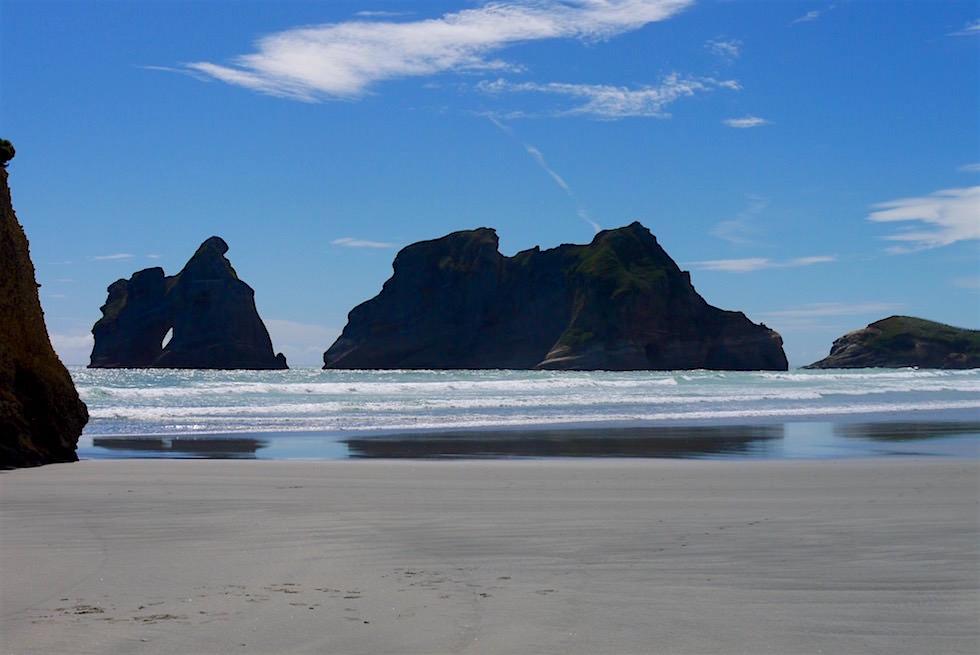 Archway Islands - Wharariki Beach - Neuseeland