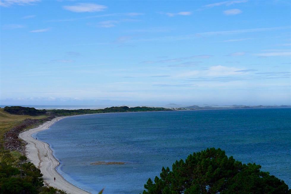 Blick vom Farewell Spit Cafe - Neuseeland Südinsel