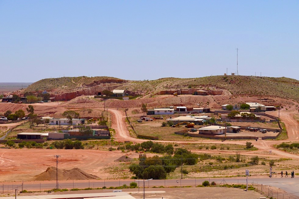 Coober Pedy - Dugouts: so werden die unterirdische Wohnungen genannt - South Australia
