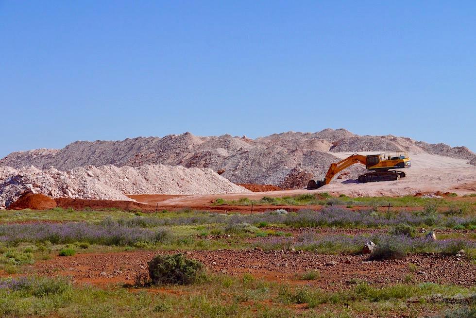 Coober Pedy - Opal Suche ein Glücksspiel - Southern Australia
