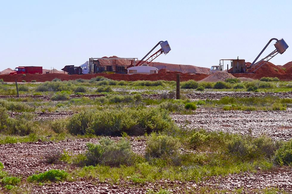Opal Mining - Coober Pedy - South Australia