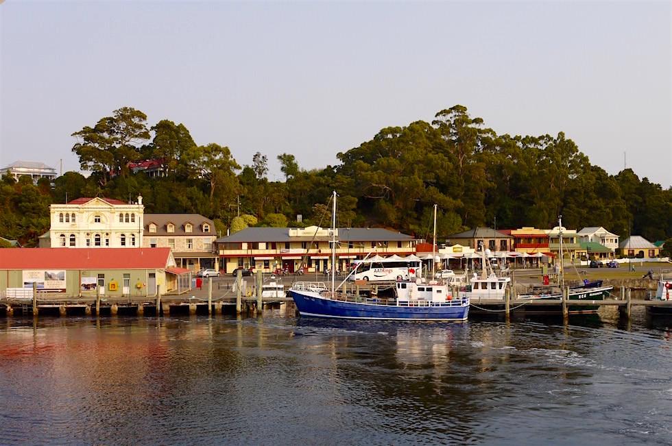 Blick auf Strahan - Tasmania
