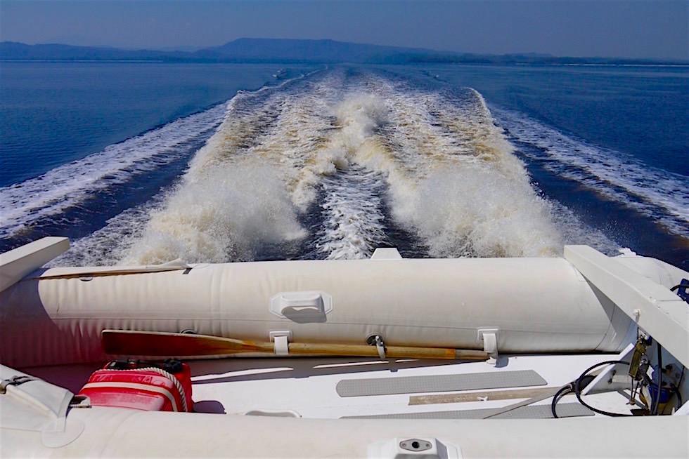 Außenbordmotoren & Wellen - Lady Jane Franklin II - Strahan - Tasmanien