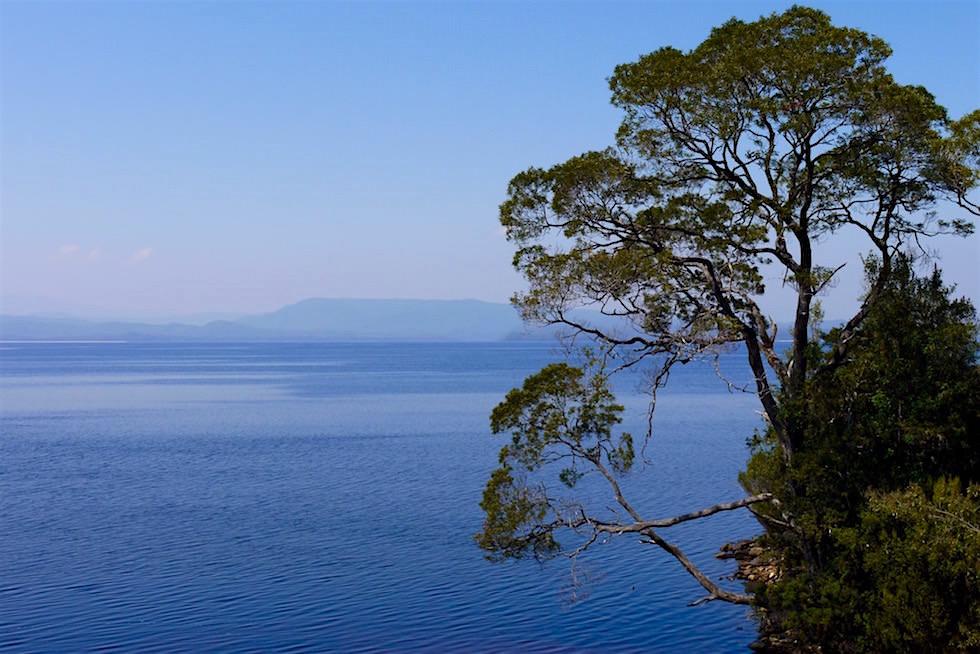 Ausblick von Sarah Island - Gordon River Cruise - Tasmanien