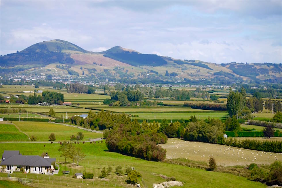Hinterland von Dunedin - Taieri Gorge Railway - Neuseeland