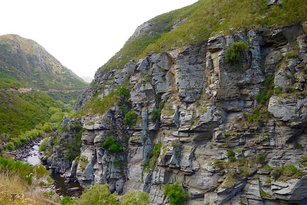 Deep Stream - Taieri Gorge Railway Route - Neuseeland, Südinsel