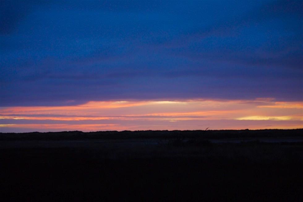 Sonnenuntergang in Karamea - auf dem Weg zum Oparara Basin - Neuseeland Südinsel