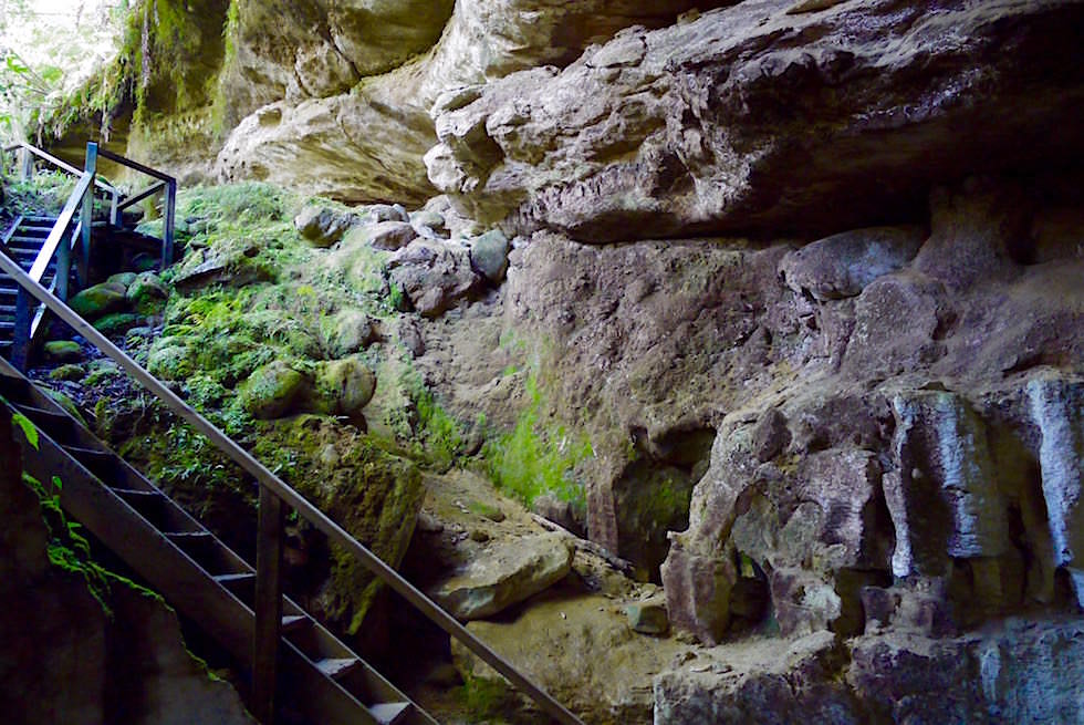 Box Canyon Caves & Crazy Paving Caves - Oparara Basin - Neuseeland