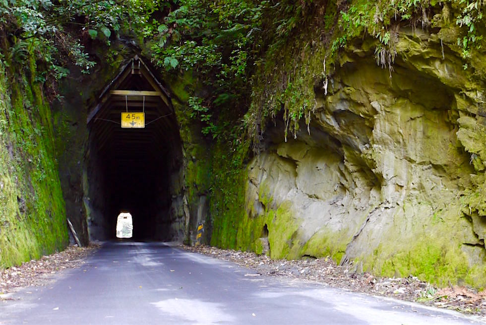 Moki Tunnel auch Hobbit Hole genannt - Forgotten World Highway - Neuseeland Nordinsel
