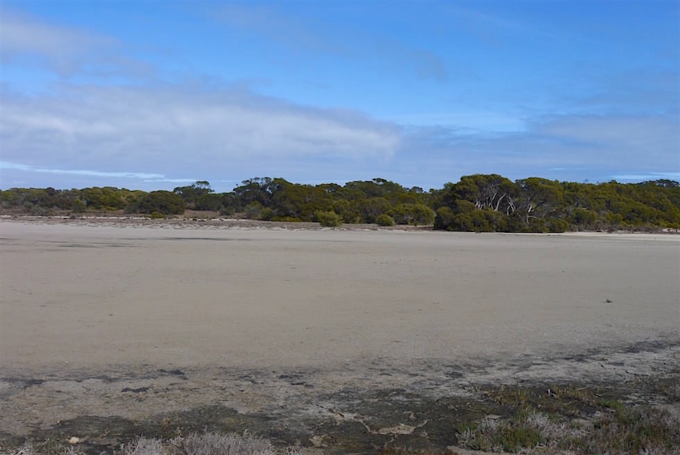 Ausgetrocknete Salzseen - Coorong National Park - South Australia