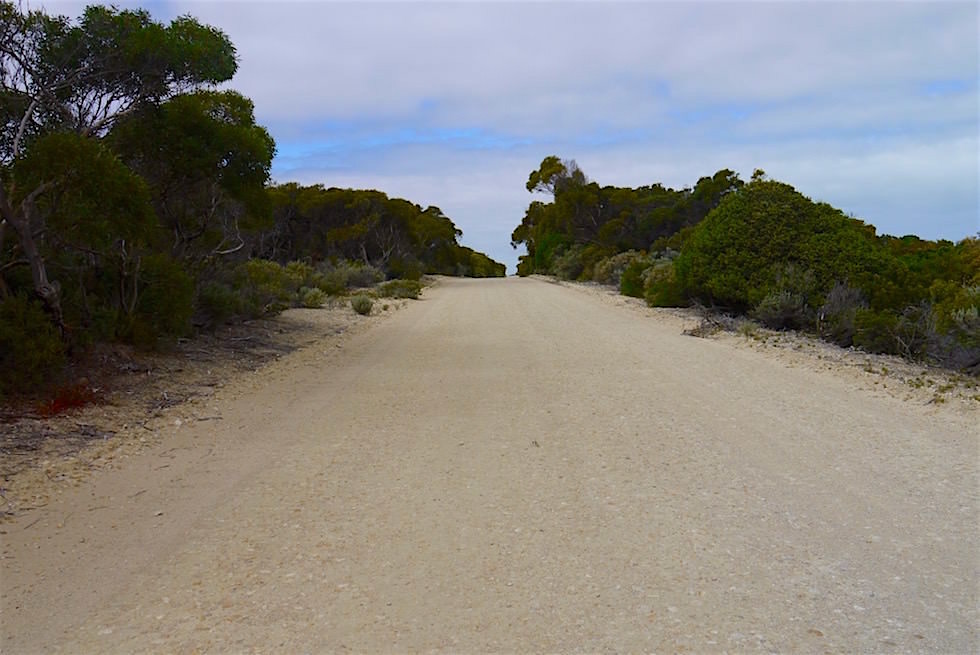 Schotterpiste - Coorong Loop Way - South Australia