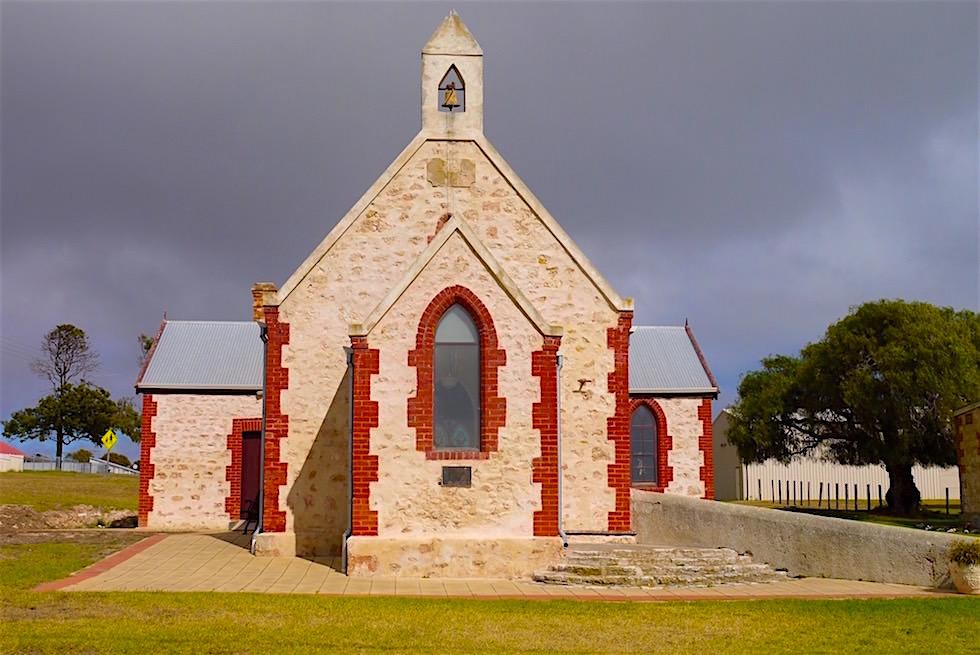 Rakkau Chirch - Kirche auf dem 50 Dollarschein Australien - South Australia