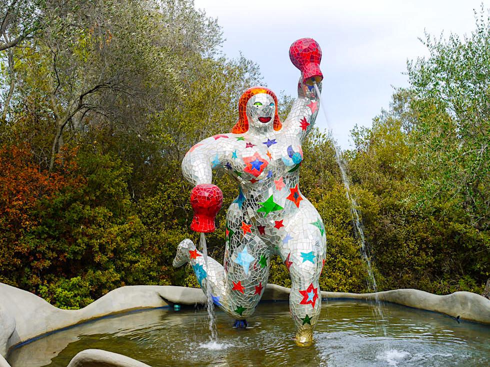 Tarot Garten von Niki de Saint Phalle - Der Stern: Wunscherfüllung & innere Kräfte - Toskana, Italien