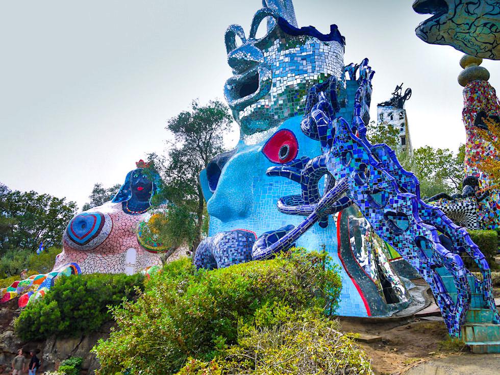 Il Giardino dei Tarocchi - Der Tarot Garten von Niki de Saint Phalle: das bedeutendste Kunstwerk der außergewöhnlichen Künstlerin - Toskana - Italien