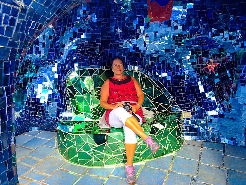 Tarot Garten von Niki de Saint Phalle - Spiegel- & Märchenwelt - Toskana, Italien