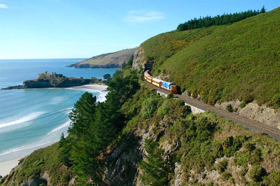 Dunedin Railways - Seasider nach Oamaru - Neuseeland Südinsel