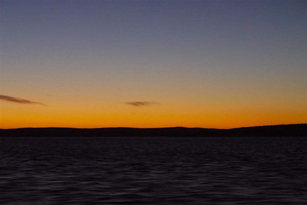 Sonnenuntergang - Tauchen mit Weißen Haien - South Australia