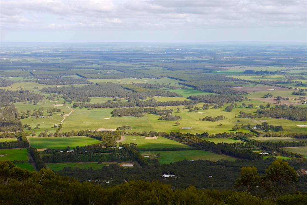 Blick vom Morgan's View - Nancy Peak Walk - Porongurup National Park - Western Australia