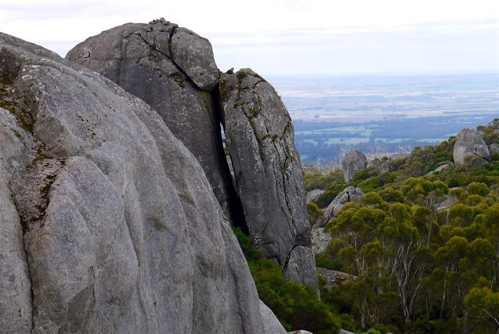Blick vom Gipfel des Marmabup - Porongurup National Park - Western Australia