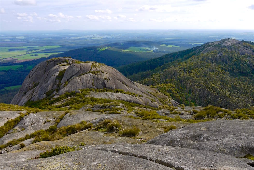 Ausblick - Marmabup Peak - Devils Slide Trail - Porongurup National Park - Western Australia