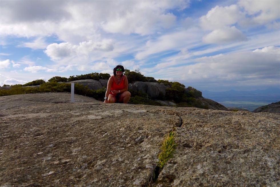 Gipfelfoto Marmabup Peak - Devils Slide Trail - Porongurup National Park - Western Australia