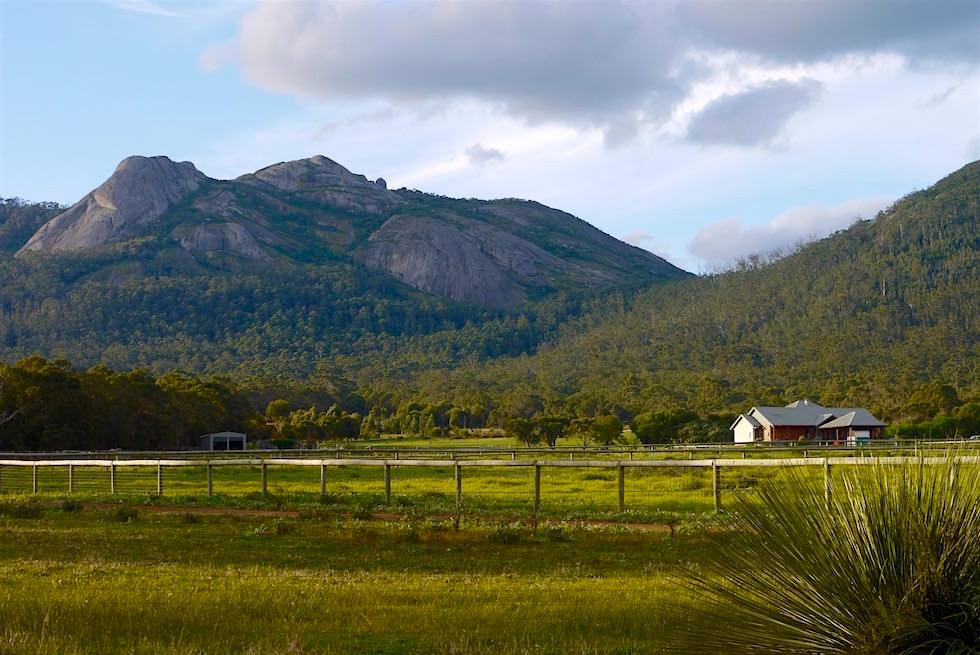 Blick auf Porongurup Range - Porongurup Tourist Drive - Western Australia