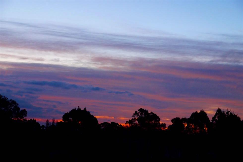 Sonnenuntergang - Porongurup National Park - Western Australia