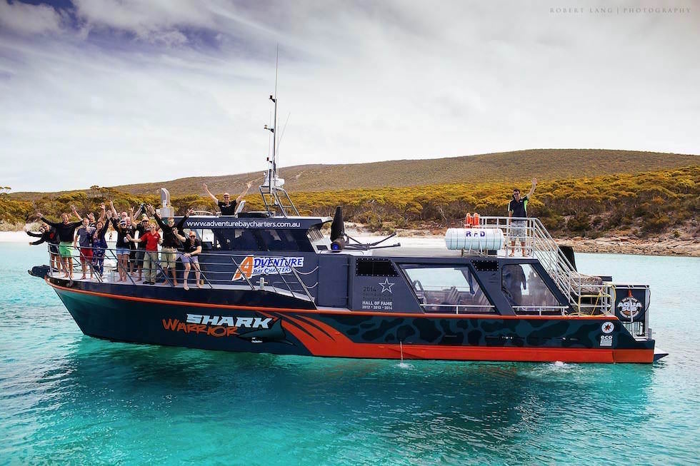 Shark Warrior - Adventure Bay Charters in Port Lincoln - South Australia