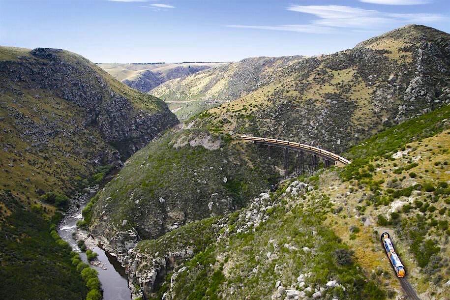 Plakat - Taieri Gorge Railway - Neuseeland