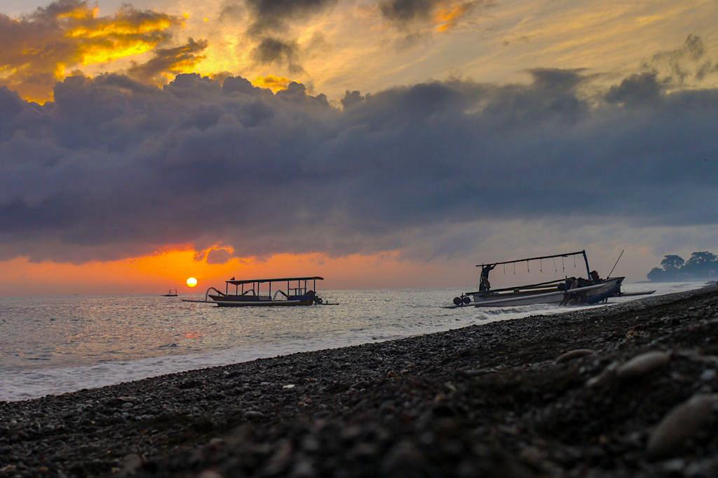 Amed Bali - Die schönsten Sonnenaufgänge und Sonnenuntergänge - Indonesien