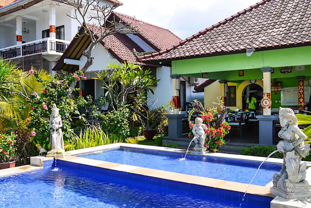 Amed Beach Resort : die Anlage - Bali, Indonesien