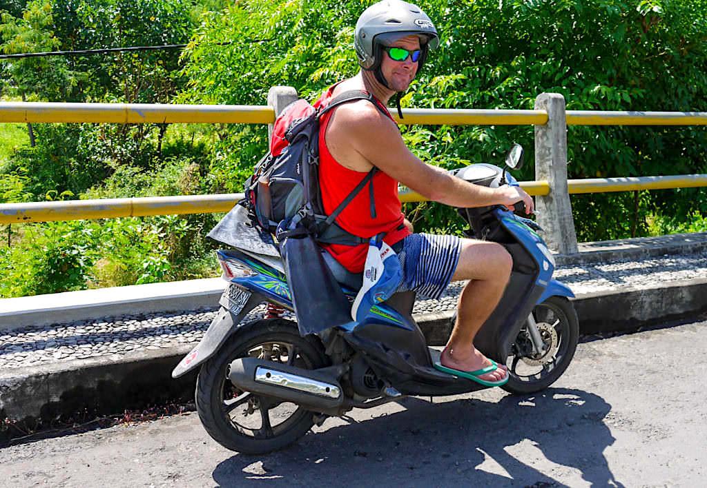 Amed Bali - Roller, das beste und günstigste Fortbewegungsmittel zum Erkunden der Umgebung - Indonesien