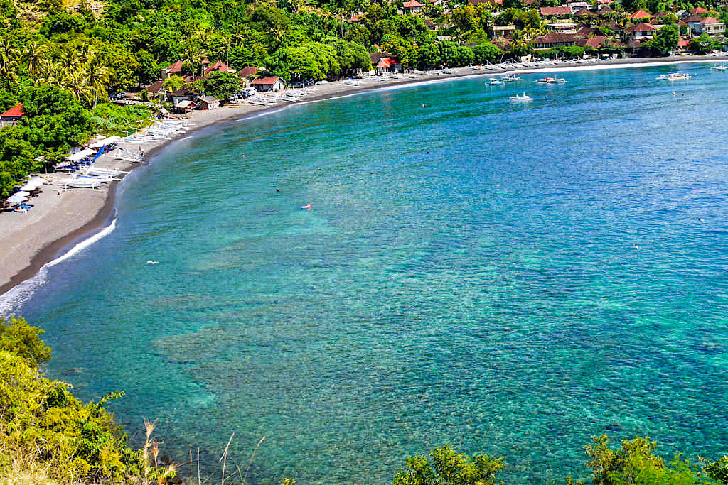 Amed Highlight: Jemeluk Beach - Bester Spot zum Schnorcheln am Riff - Amed Bali - Indonesien