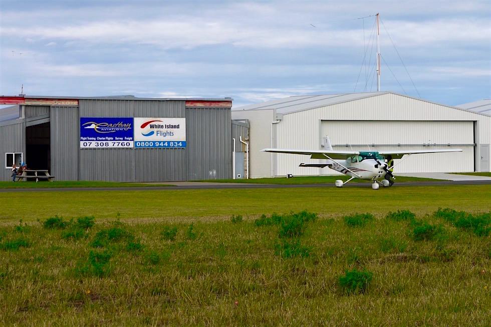 Whakatane Airport - White Island Flights - Neuseeland Nordinsel