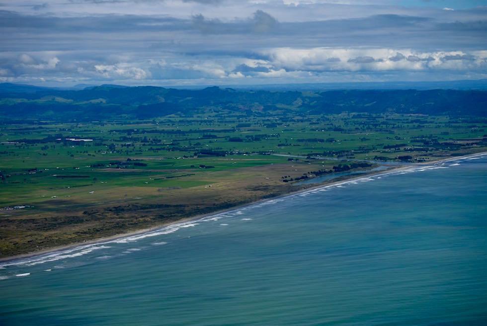 Whakatane - Bay of Plenty - White Islands Flights - New Zealand North Island
