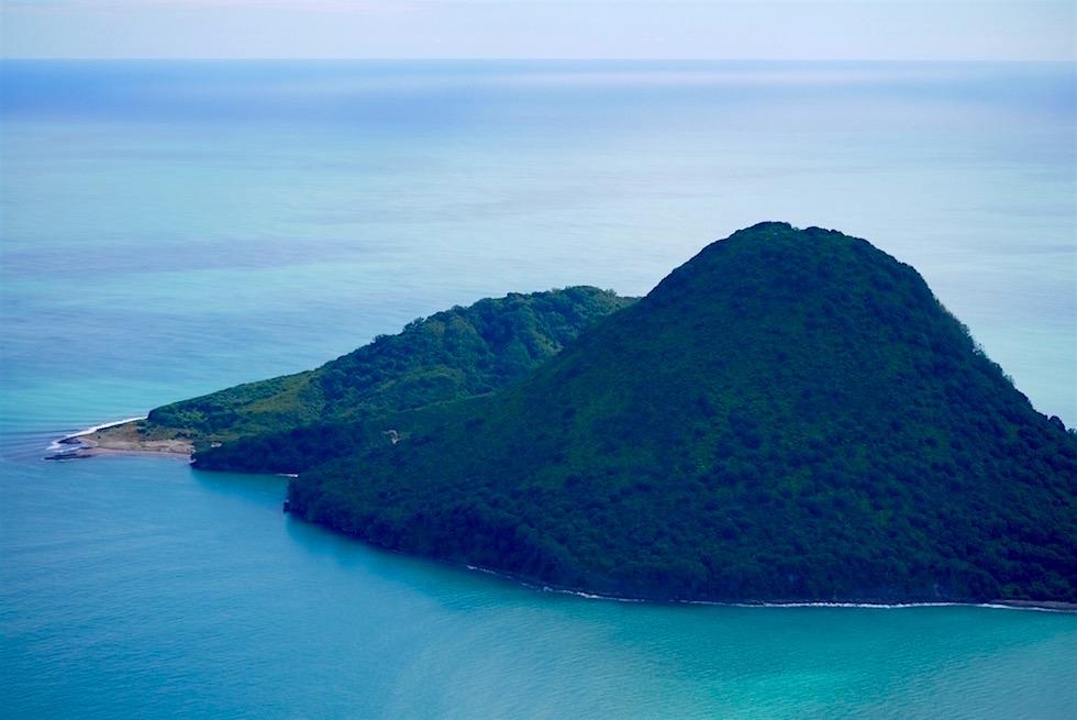 Whale Island ist das erste Highlight mit White Islands Flights - Neuseeland Nordinsel