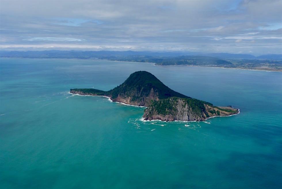 Whale Island oder Motuhora - White Island Flights - Neuseeland Nordinsel