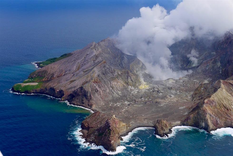 Atemberaubender Ausblick auf Neuseelands aktiven Vulkan - White Island Flights - Neuseeland, Nordinsel