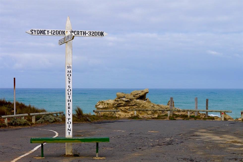 Südlichster Punkt von South Australia - Limestone Coast