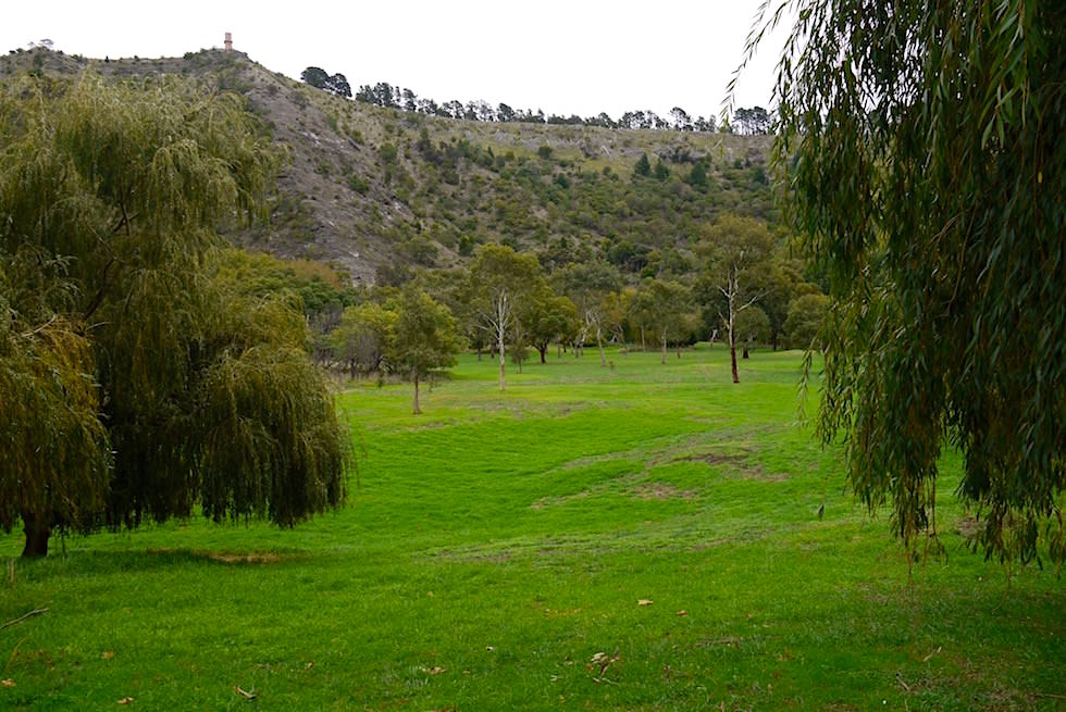Parkanlage rund um den Valley Lake in Mount Gambier - South Australia